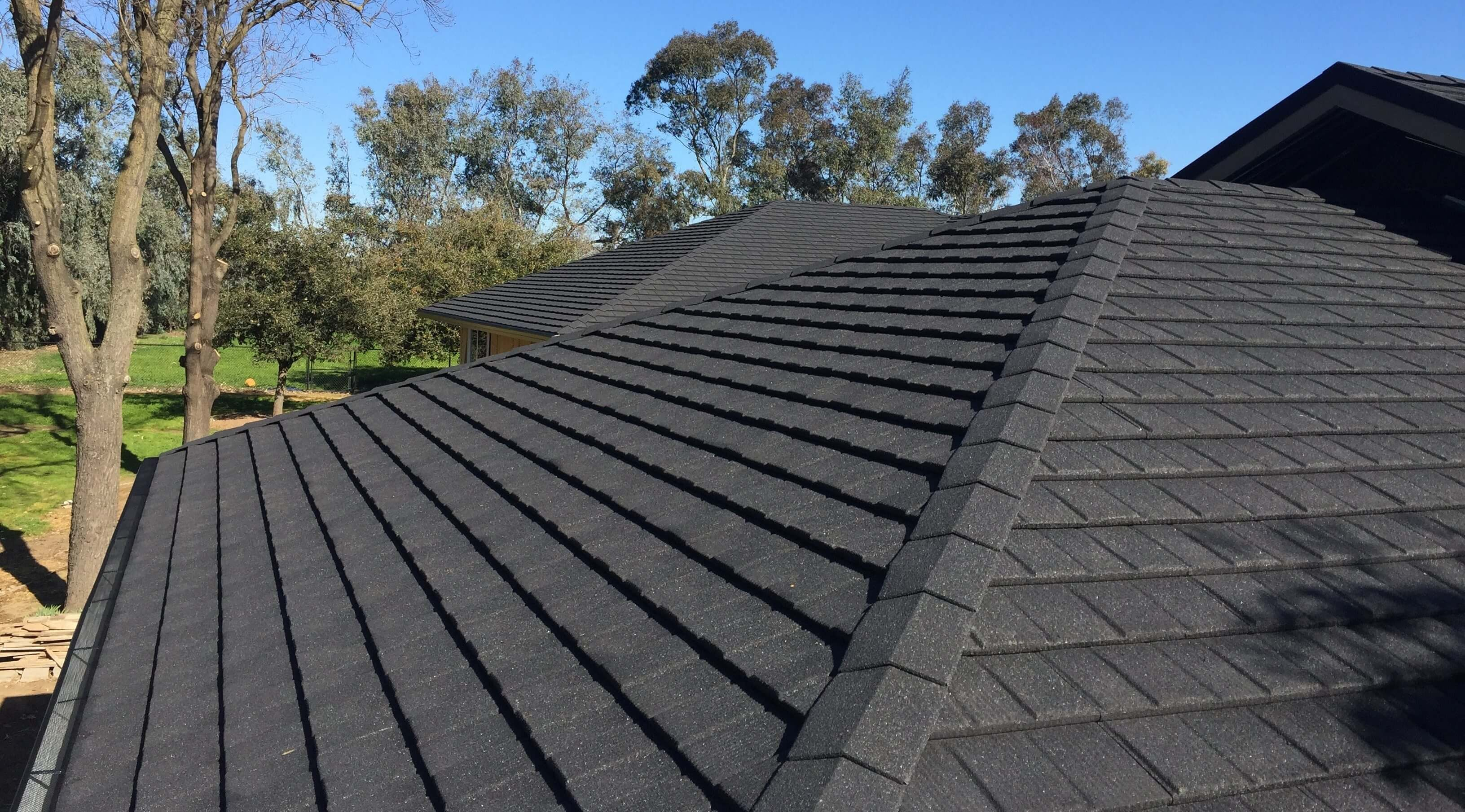 FIRST TILCOR CONCEALED FASTENING SHINGLE ROOF INSTALLED IN USA-3